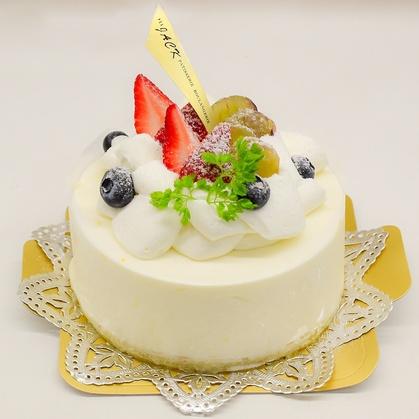 バースデーケーキ「レアチーズケーキ」