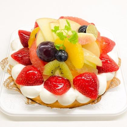 バースデーケーキ「フルーツタルト」