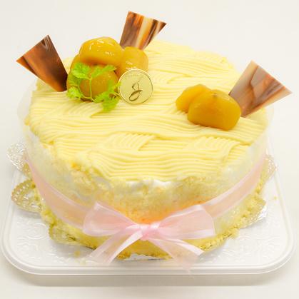 バースデーケーキ「モンブラン」