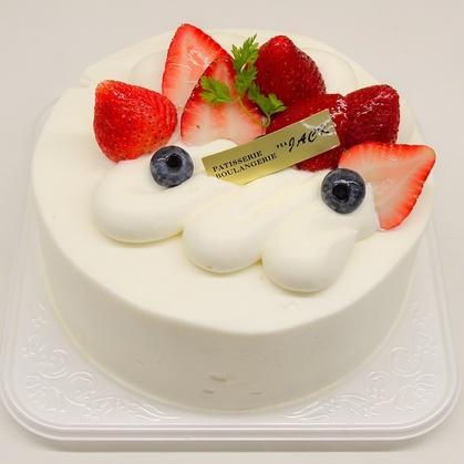 バースデーケーキ「いちご生クリームデコレーション」