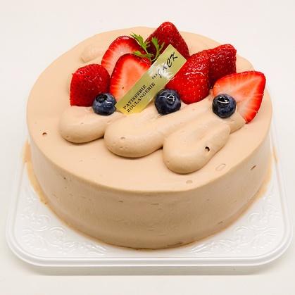 バースデーケーキ「生チョコレートケーキ」